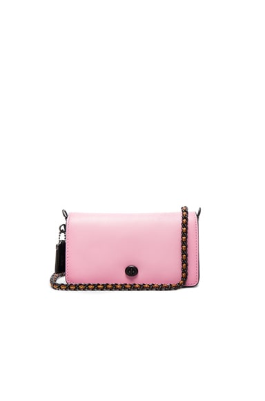 Colorblock Leather Dinky Bag