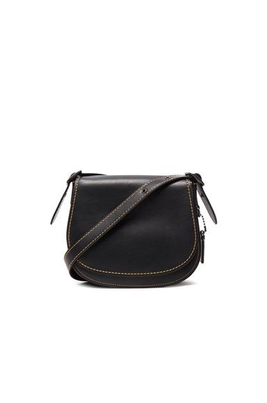 Coach 1941 Saddle 23 Bag in Black