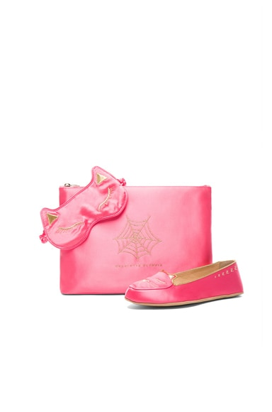 Charlotte Olympia Cat Nap Set in Pink