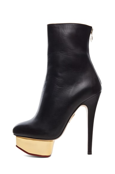 Lucinda Signature Island Nappa Leather Booties