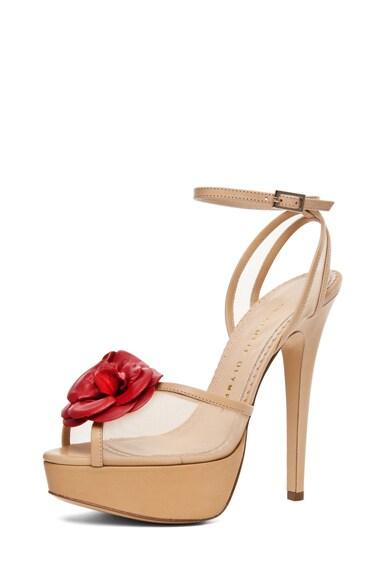 Florentina Mesh Sandal