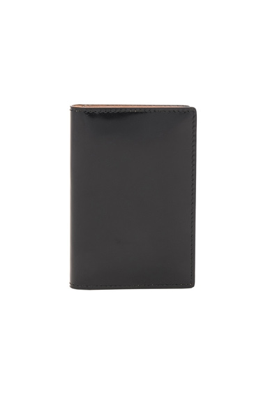 Boxed Leather Folio Wallet