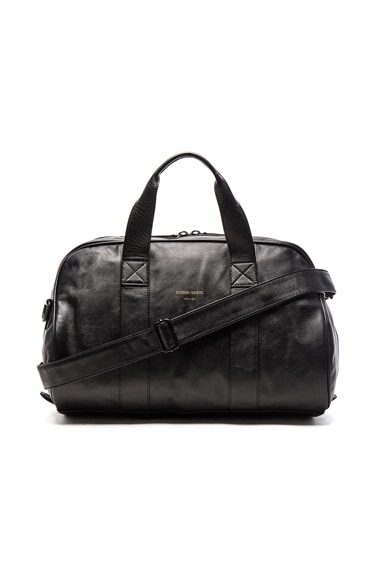 Common Projects Leather Duffel Bag in Black