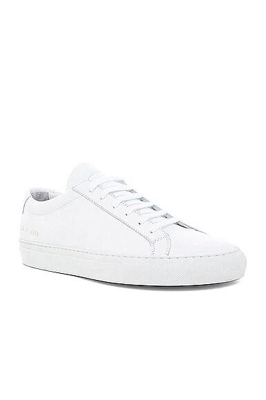 Original Achilles Leather Low Tops