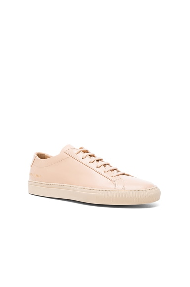 Common Projects Original Achilles Low in Natural