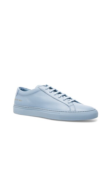 Common Projects Original Achilles Low in Powder Blue