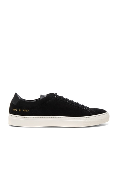 Suede Achilles Retro Low