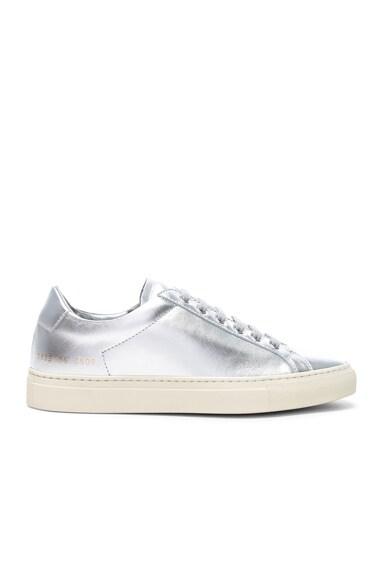 Leather Retro Low Achilles Sneakers