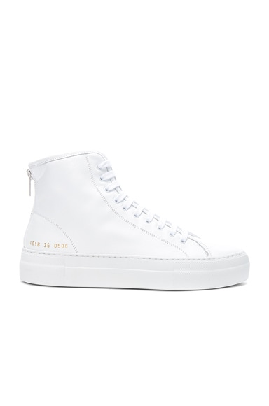 Leather High Tournament Super Sneakers