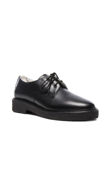 Leather Cadet Derbies