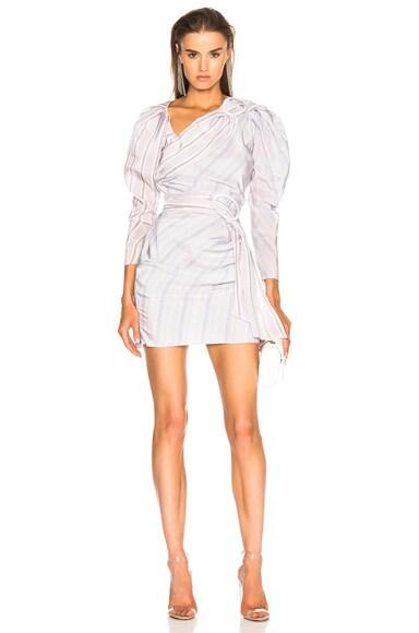 Draped Mini Dress