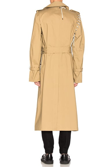 Laced Trench