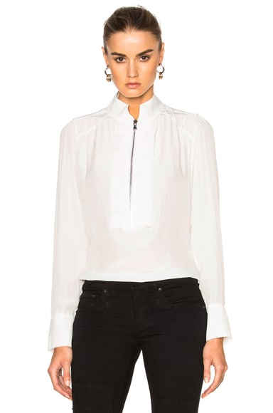 Calvin Rucker Modern Love Top in White