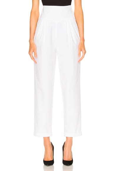 Carolina Ritzler Mickael Pant in White
