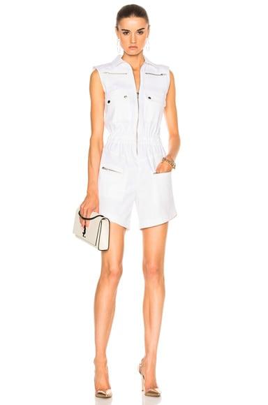 Carolina Ritzler Mathilda Romper in White
