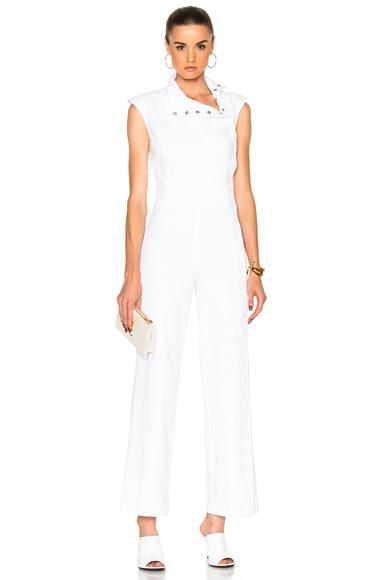 Carolina Ritzler Maria Jumpsuit in Blanc
