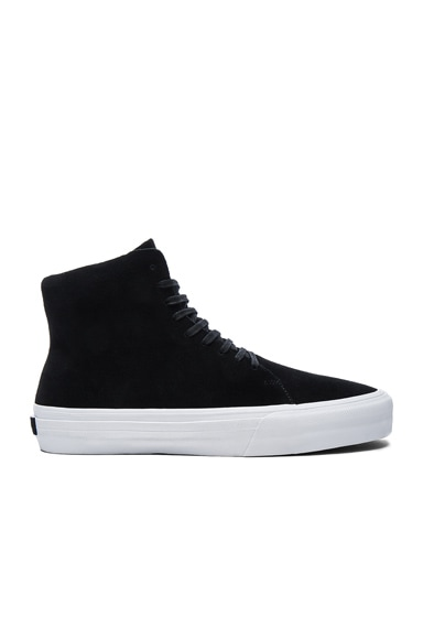 CU4TRO Suede Norris Sneakers in Black