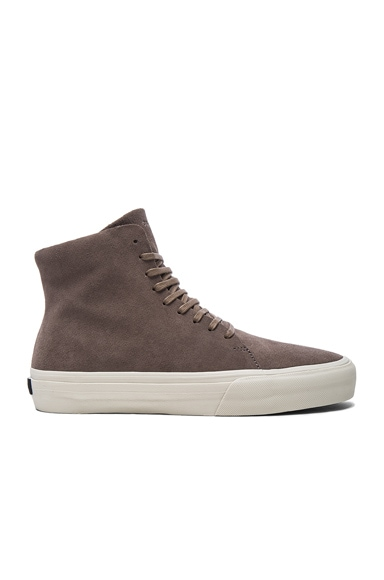 CU4TRO Suede Norris Sneakers in Taupe