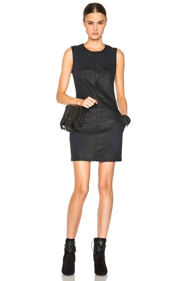 Current/Elliott Shift Dress in Black