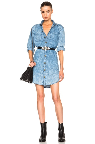 Current/Elliott Jamie Shirt Dress in Pierrot