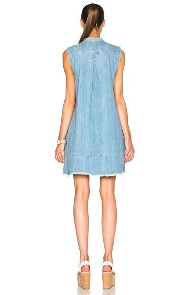 Sleeveless Tuck Dress