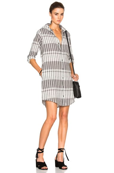 Prep School Shirt Dress