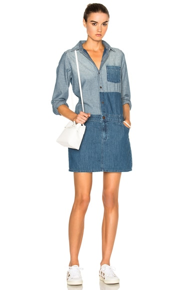 Current/Elliott Whitney Coverall Dress in Ashore