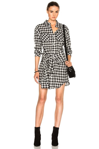 Twist Shirt Dress
