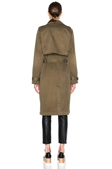 Storm Flap Trench Coat