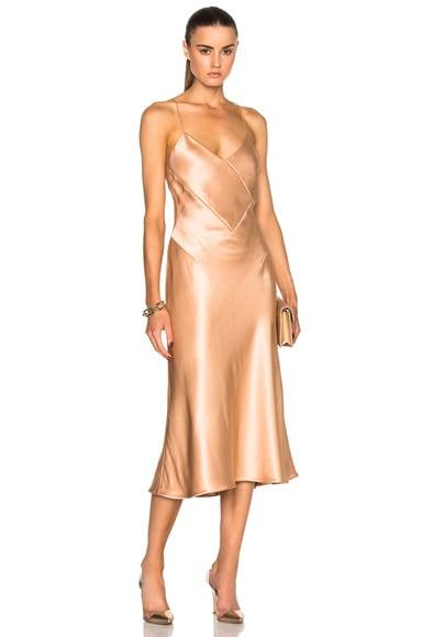 Cushnie et Ochs Rosie Dress in Champagne