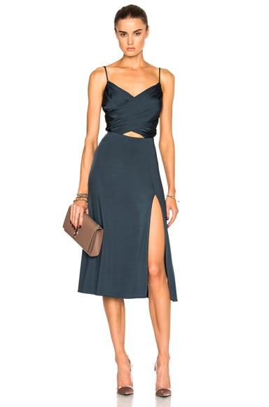 Gloss Jersey Dress