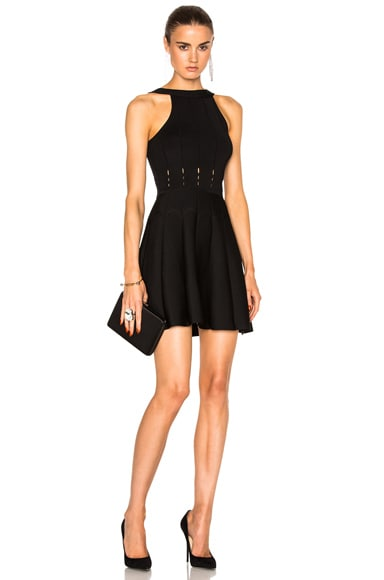 Cushnie et Ochs Mini Dress in Black