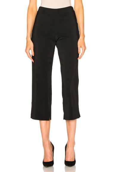 Stretch Cady Cropped Pants