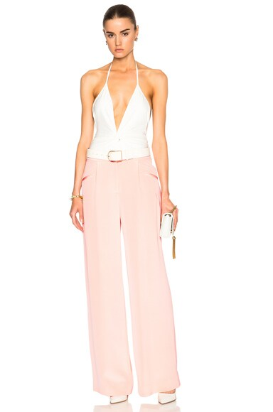Silk Crepe Trousers