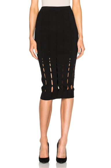Cushnie et Ochs Maxi Skirt in Black