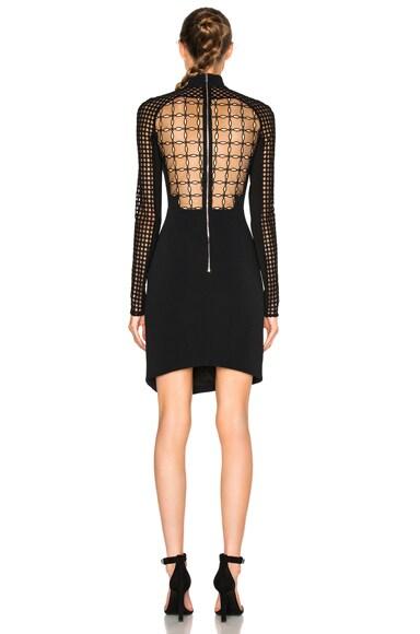 FWRD EXCLUSIVE Macrame Bodice Mini Dress