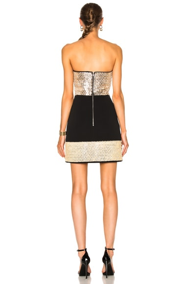 Plexi & Stones Embroidered Dress