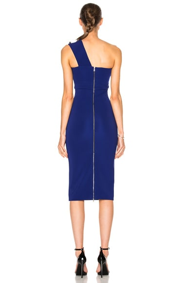 Over Shoulder Strap Pencil Dress