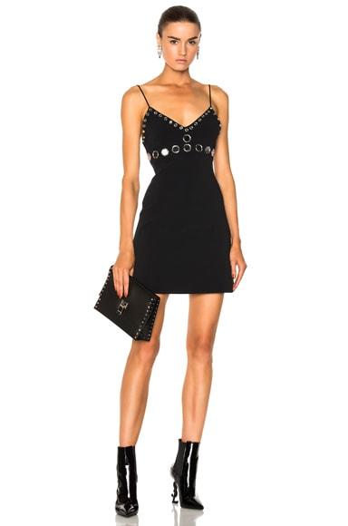 Circle Embellished Mini Dress