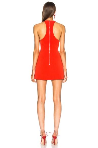 Patent Leather Mini Dress