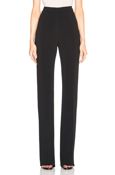 David Koma Panel Trousers in Black