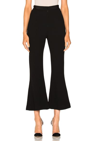 Ribbon Waistband Culottes