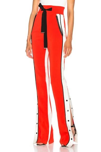 Side Snap Trouser Pants