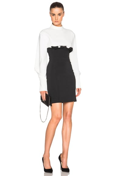 High Waisted Ruffle Mini Skirt