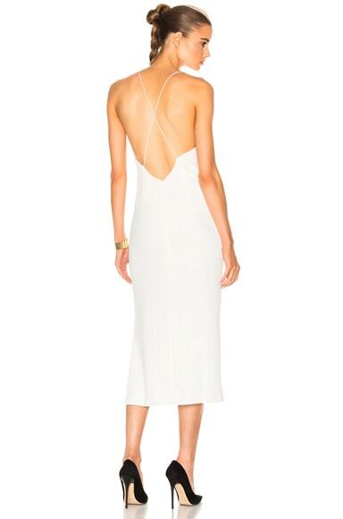 Whitewash Fine Line Dress