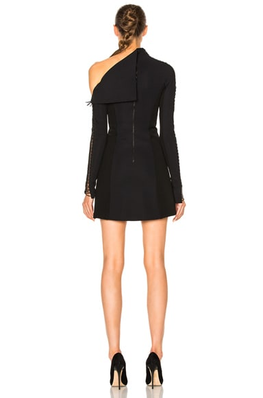Corded Elastic Laced Dress