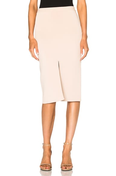 Dion Lee Reversible Split Density Skirt in Blush
