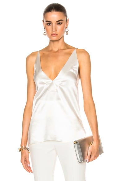 Dion Lee Contour Cami Top in Ivory