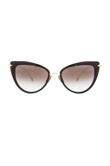 Dita Heartbreaker Sunglasses in Black