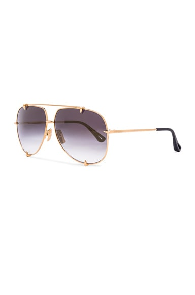 18K Talon Sunglasses